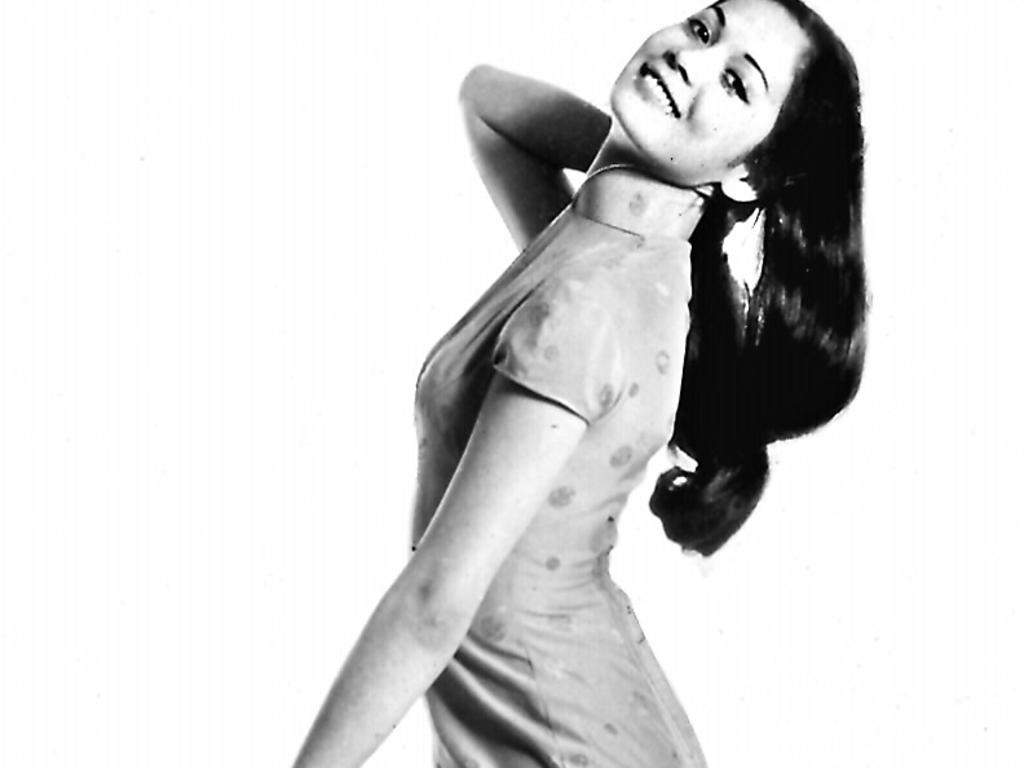 Actor Nancy Kwan in 1960 film