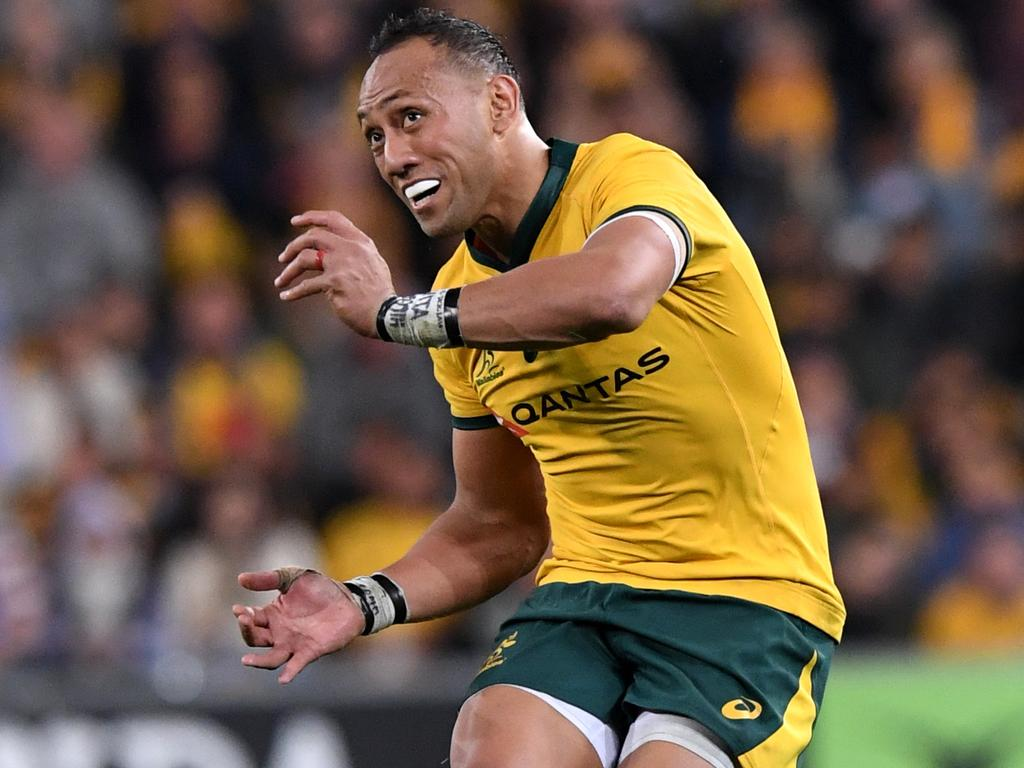 Christian Lealiifano made his Wallabies return at No.10. Picture: AAP