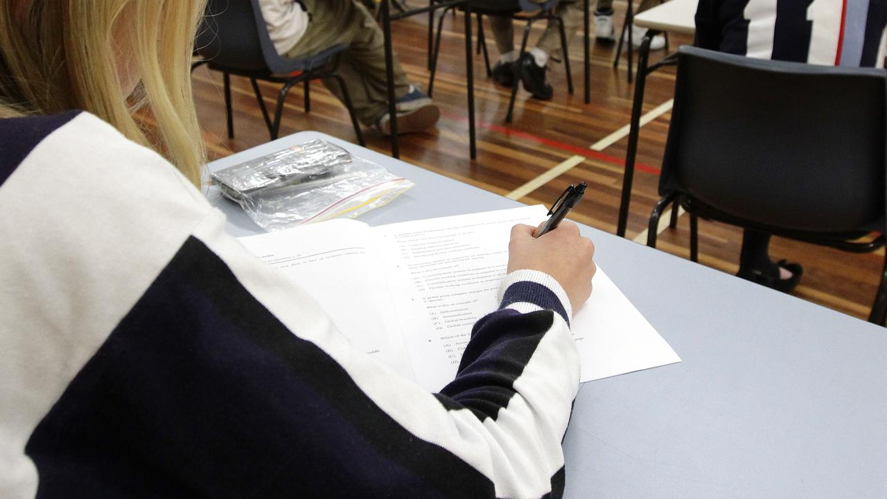 The teacher admitted leaking the papers to the student prior to the exam.
