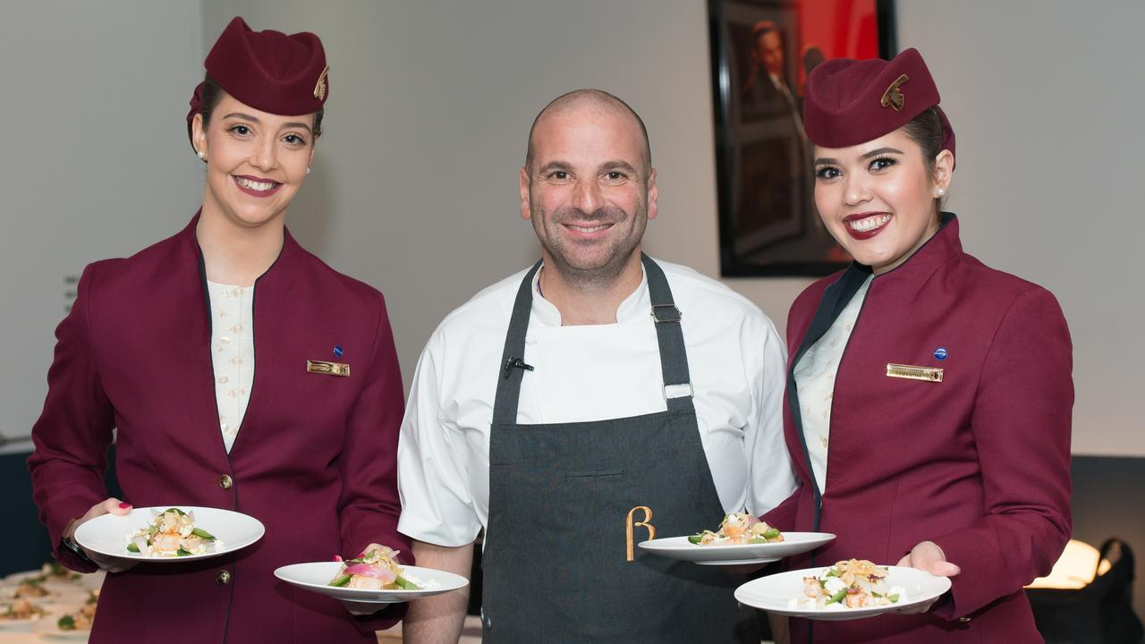 Despite the underpayment declaration, business remained good for Calombaris, who signed on to design the in-flight menu for Qatar Airways.
