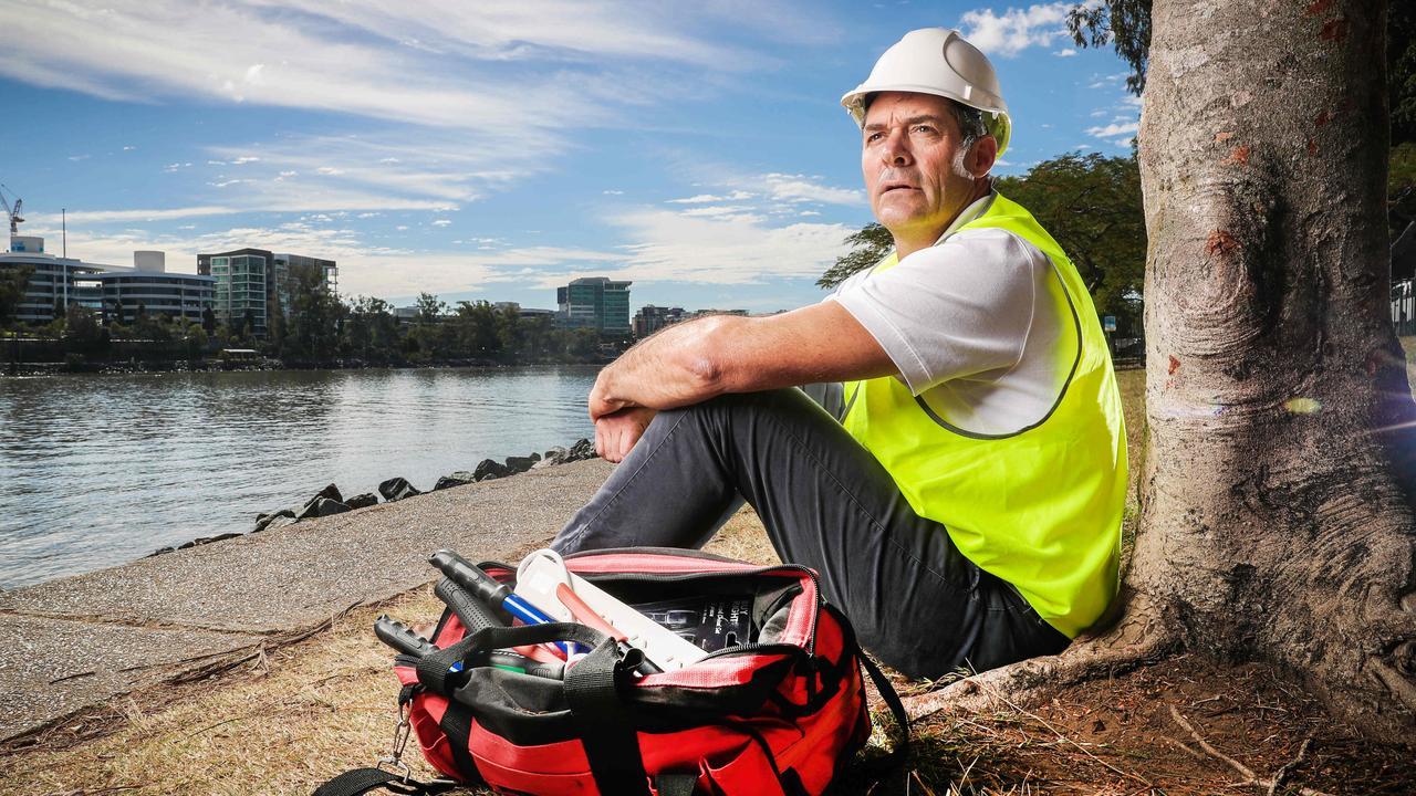 Former Brisbane Boys' College rowing coach David Bellamy. Picture: Nigel Hallett