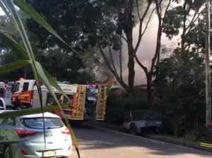 House on fire, Buderim