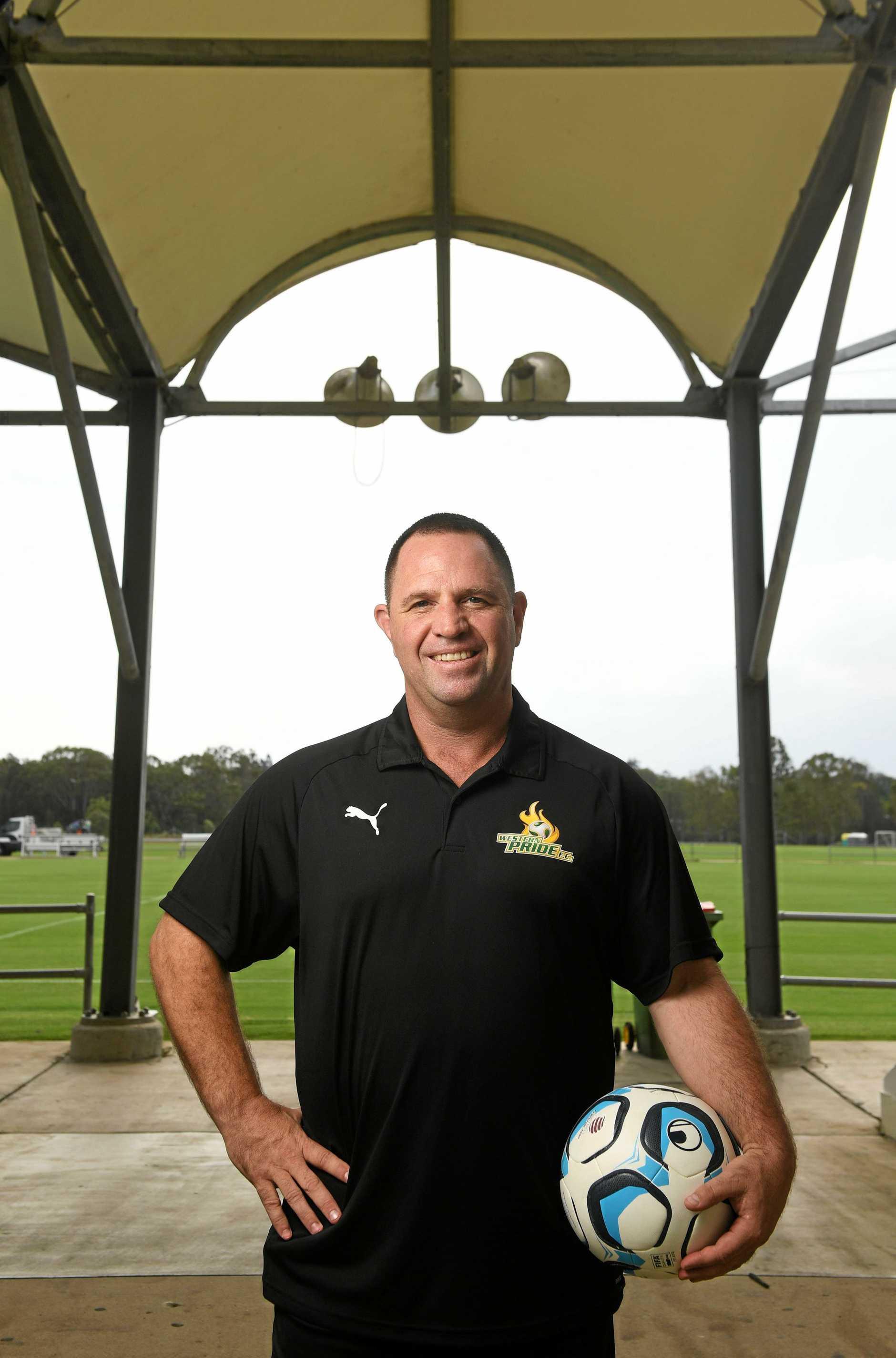 New Western Pride head coach Terry Kirkham.