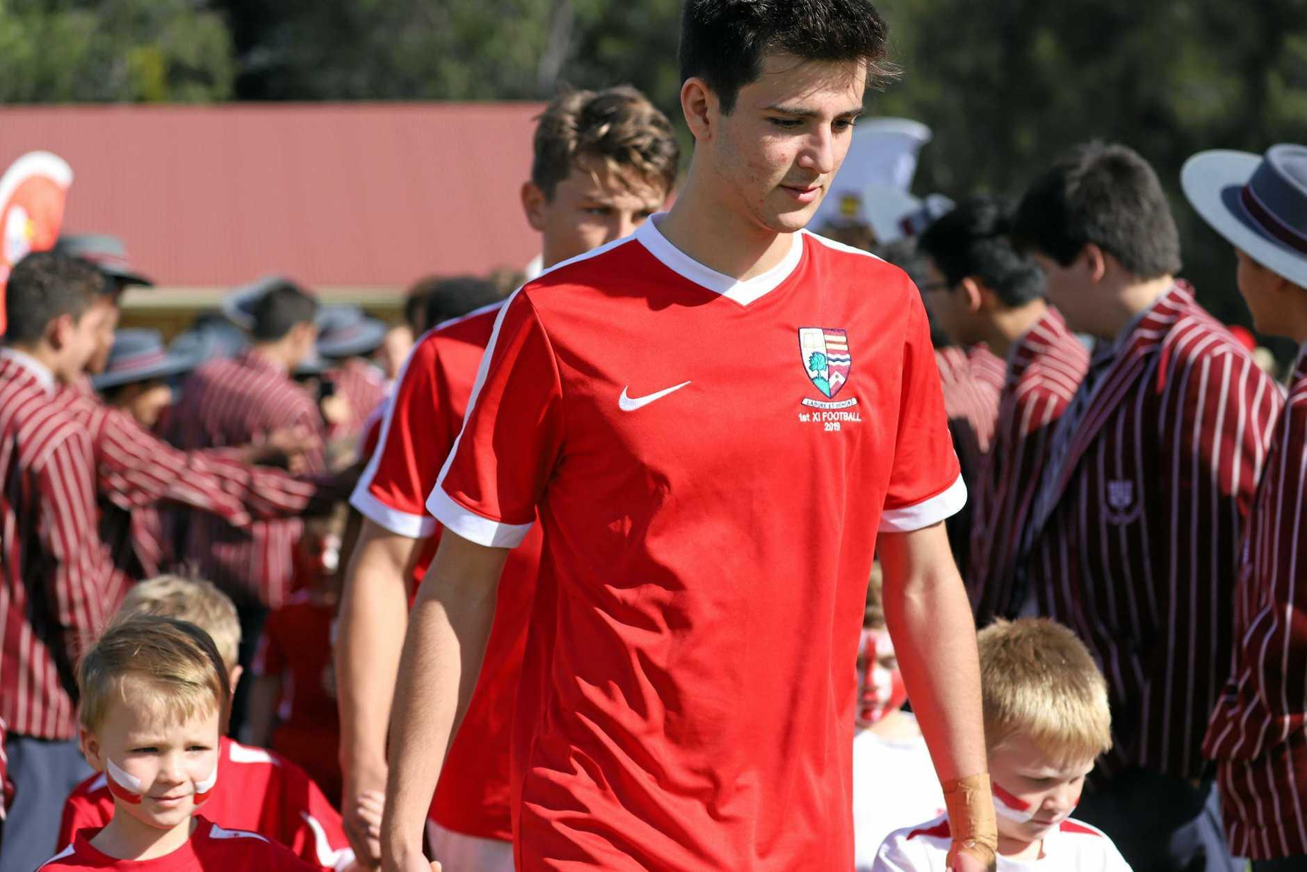 Ipswich Grammar School student Connor Maynard made a successful Western Pride senior team debut.