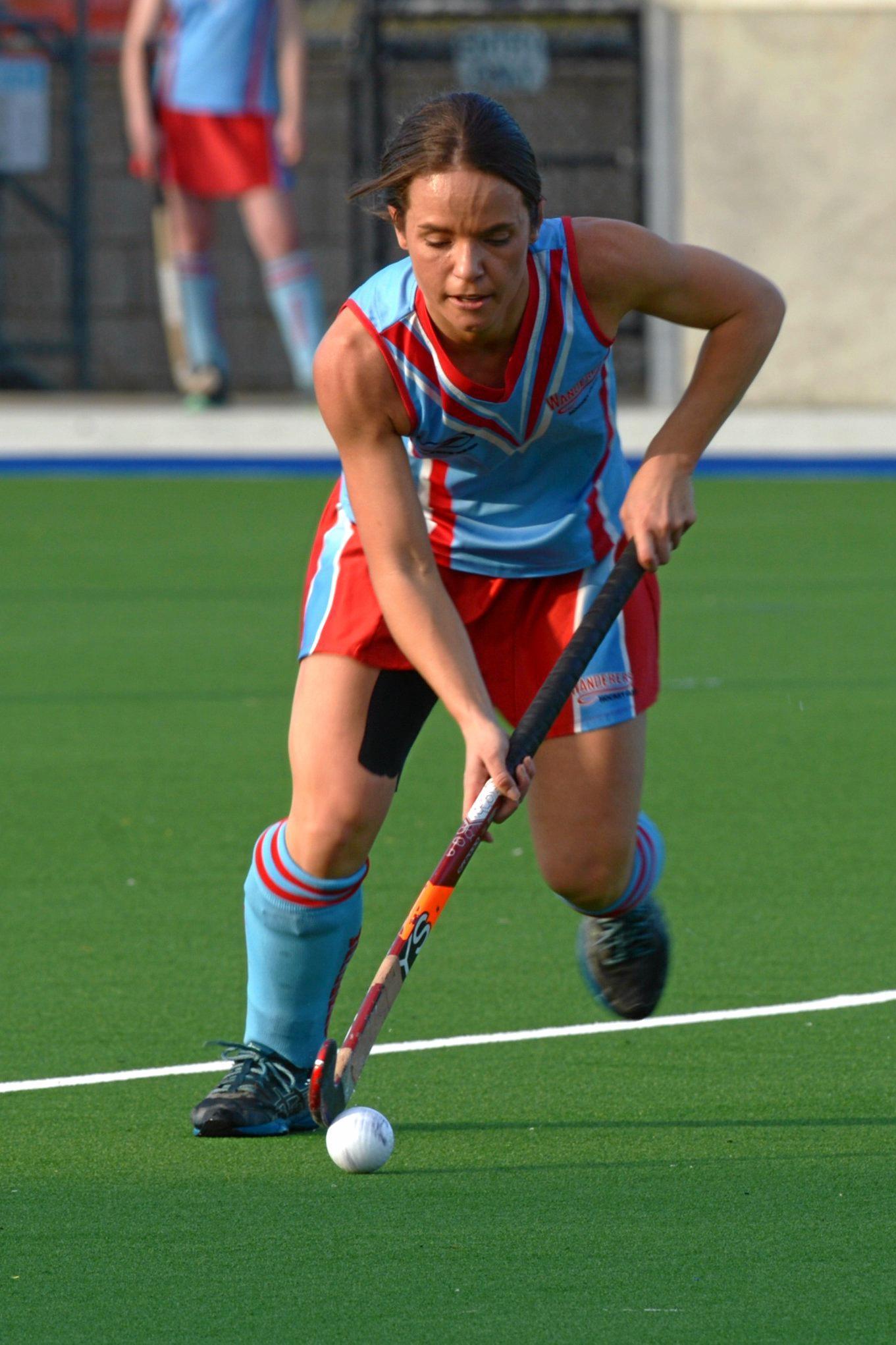 HOCKEY CQ LEAGUE WOMENS A1: Meteors' Aimee Doveton