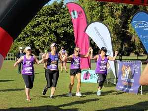 Running group unites to cross finish line
