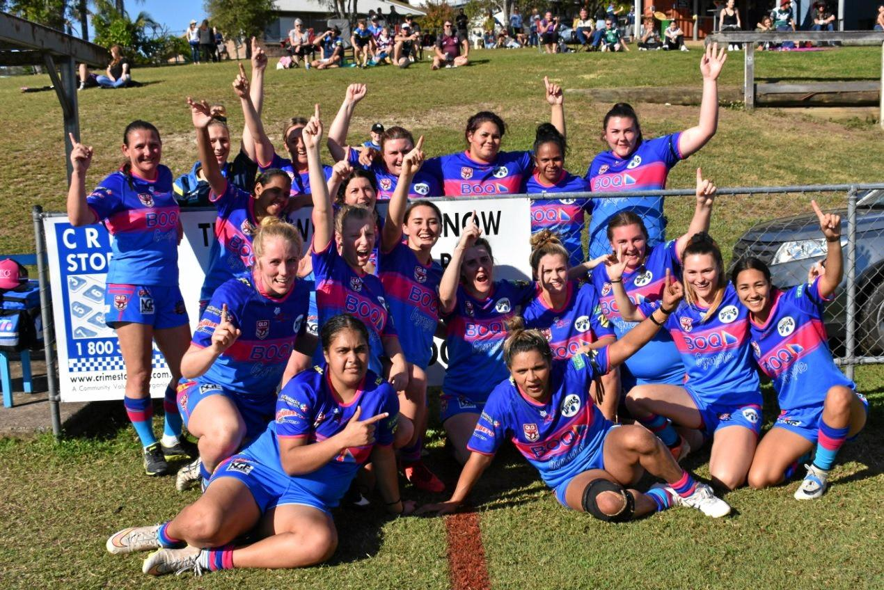 VICTORIOUS: The Gympie Devils defeated the Maroochydore Swans in the semi-final.