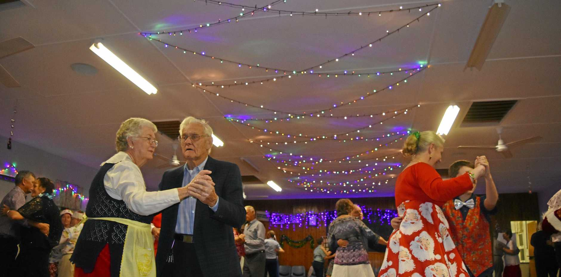 St Ruth celebrated the festive season a little early with their annual Christmas in July dance.