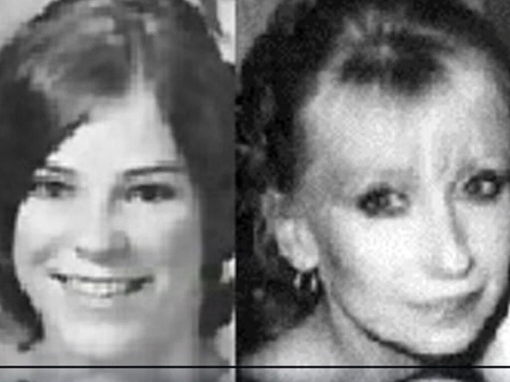 Janice Hartman and Fran Gladden-Smith both disappeared after marrying John Smith. Picture: Crime+Investigation