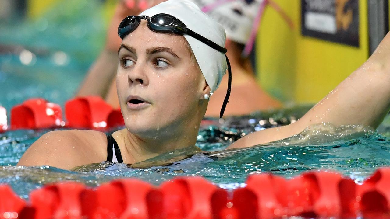 Australian swimmer Shayna Jack in Brisbane last month.
