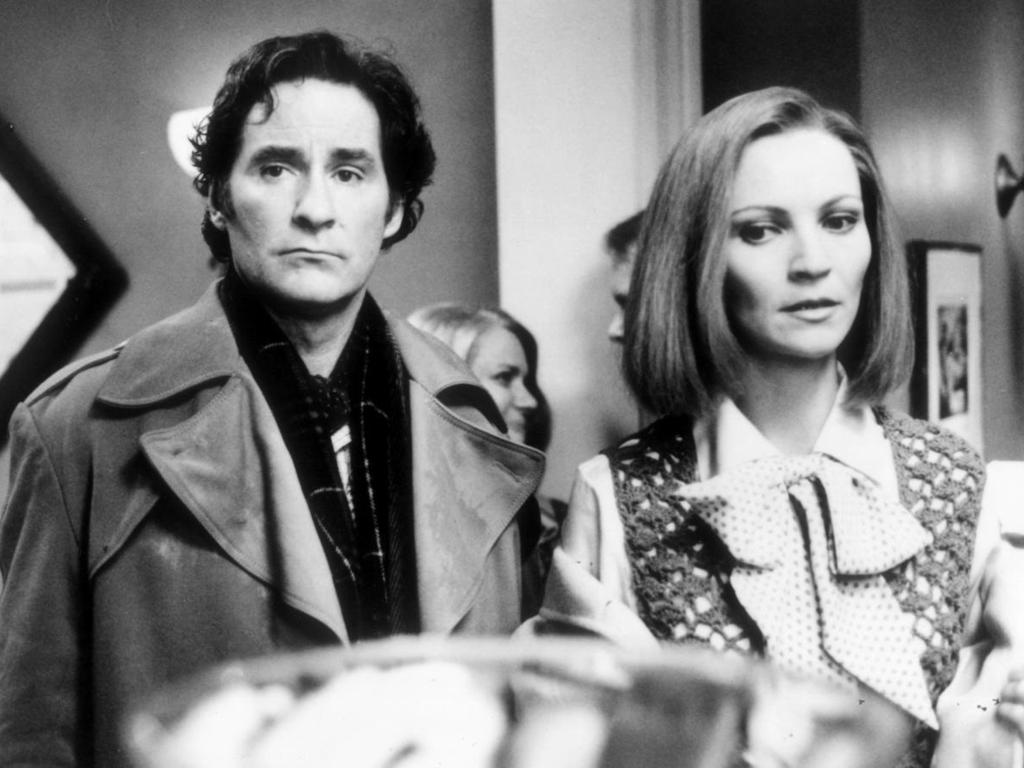 "Kevin Kline and Joan Allen in the infamous ""key party"" scene from the film The Ice Storm."