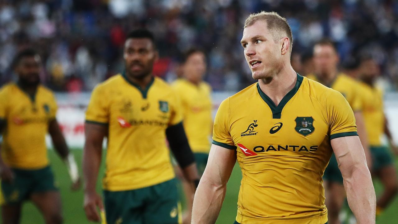 David Pocock's Wallabies return is edging closer. Picture: Getty