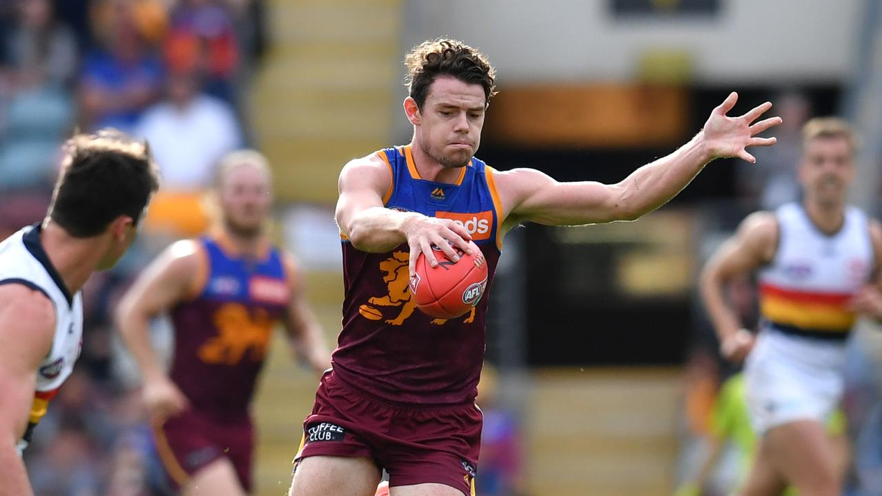 Lachie Neale has been arguably the recruit of the year in his first season at Brisbane. Picture: AAP Image/Darren England.
