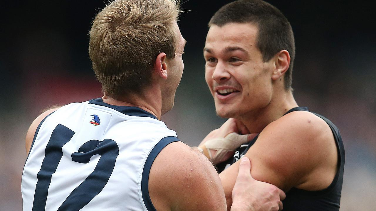 Jack Silvagni has reinvented himself under David Teague. Picture: Michael Klein