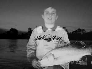 Nick Thompson fishing