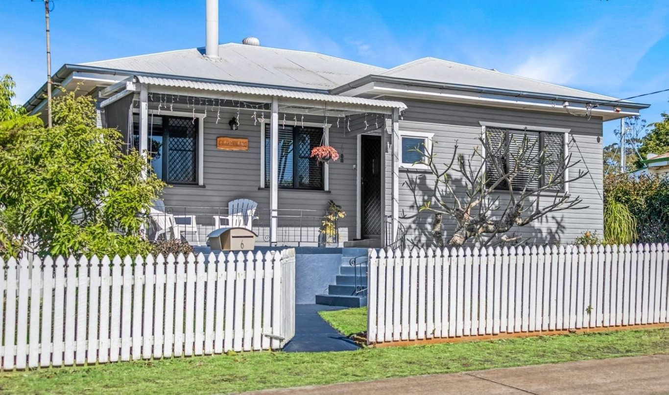6 Farquharson St, Harristown, is for sale.