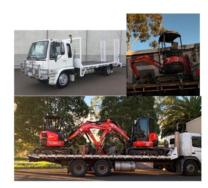 MISSING: Trucks and excavators worth $800k stolen