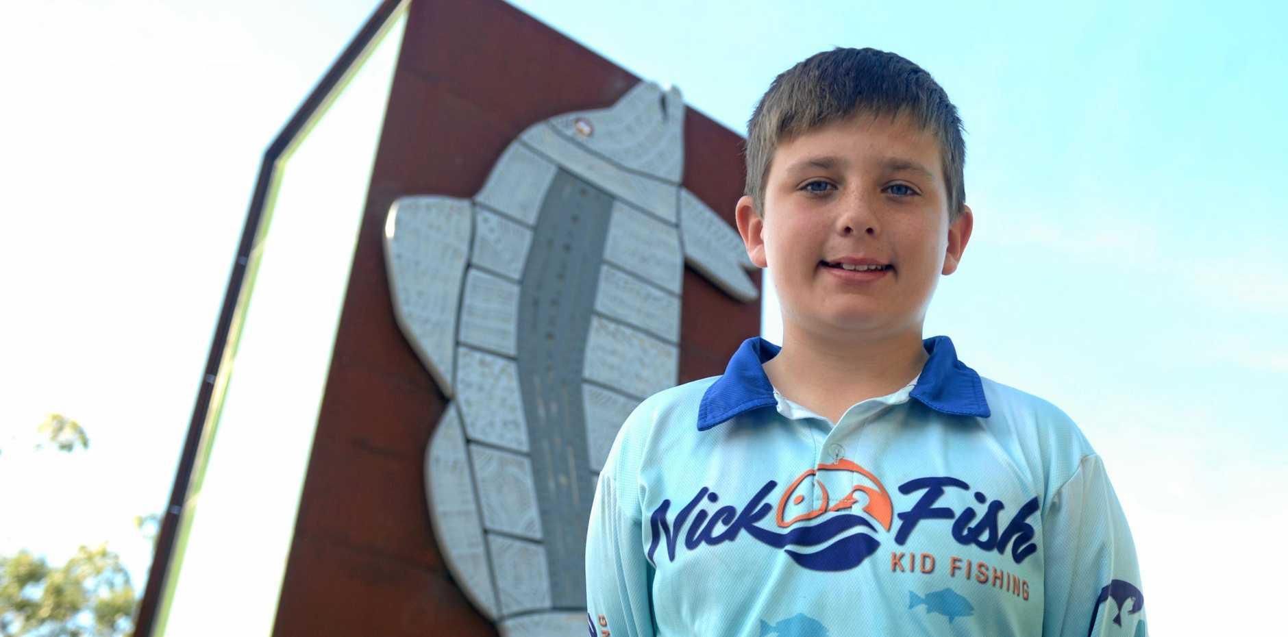 Nick Thompson is Rockhampton's fast rising fishing star