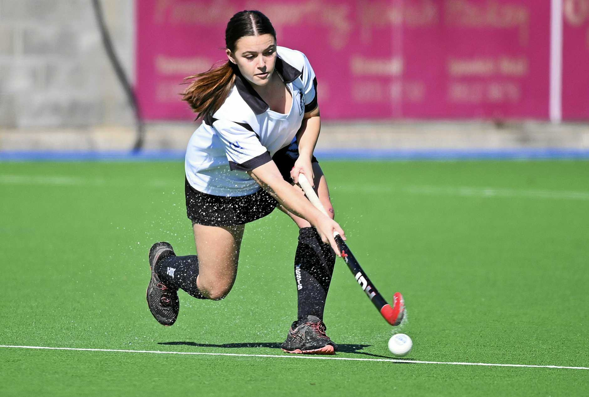 SHARP SKILLS: Wests' A-Grade talent Jemma Payne is one of the