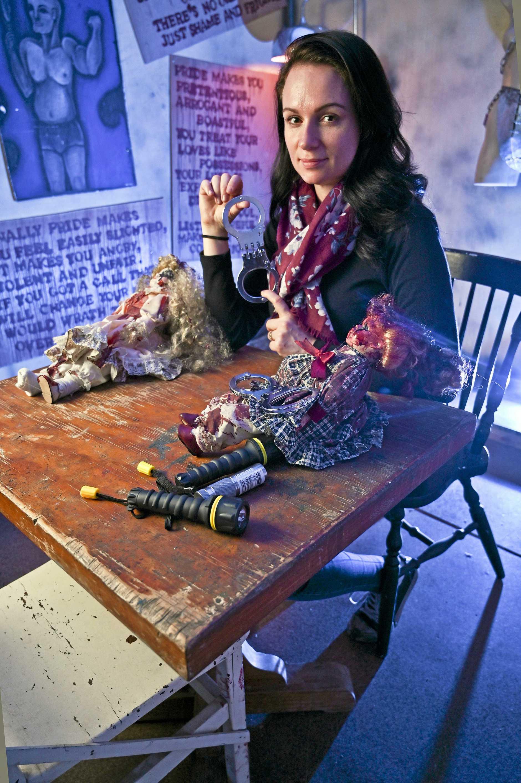 Keziah Jarrett operates Seraphim Escape rooms in Ipswich.