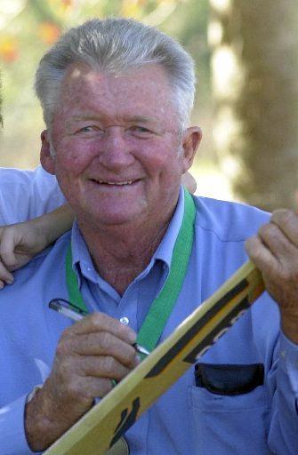TRIBUTE: Clunes cricket legend Sam Trimble has passed away in Brisbane.