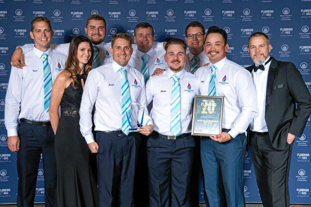 2019 gas awards James Giles PLumbing