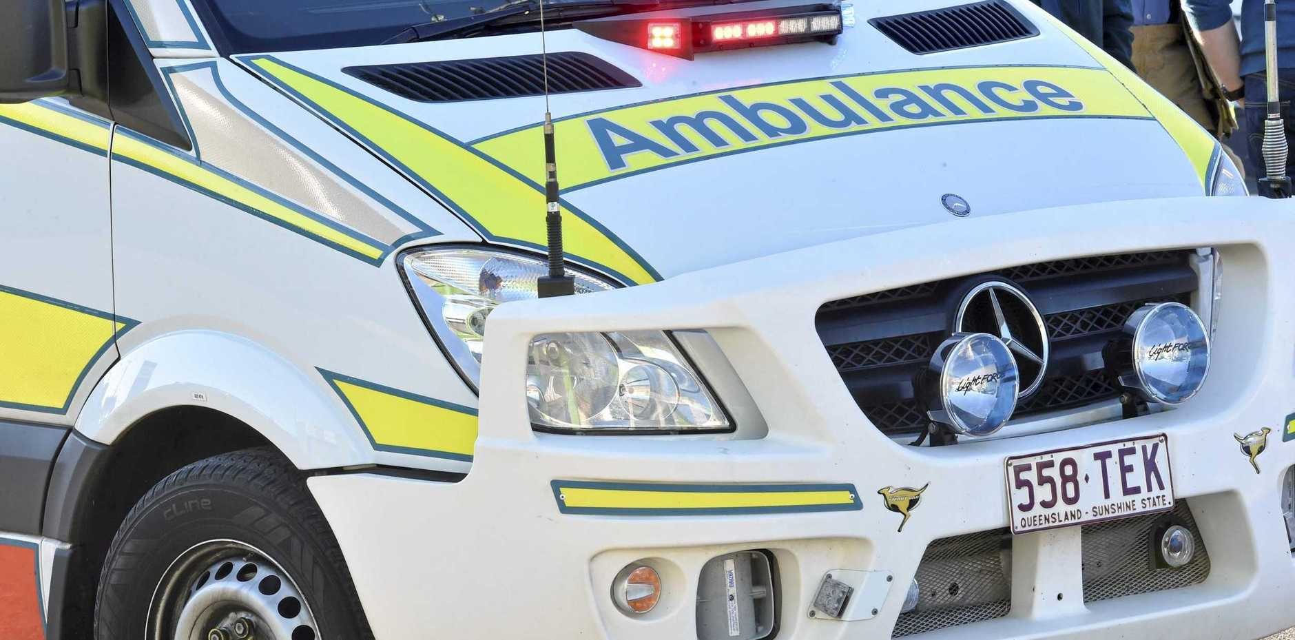FILE PHOTO: One person has been injured in a traffic crash on the Sunshine Motorway at Sippy Downs this morning.