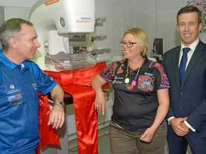 See the new breast screen equipment which will save lives!