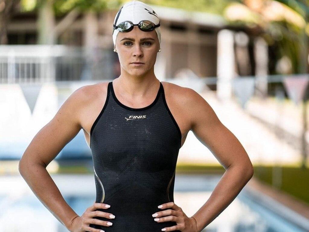 Australian swim team swimmer Shayna Jack, who has test poitive for a banned substance. Instagram image.