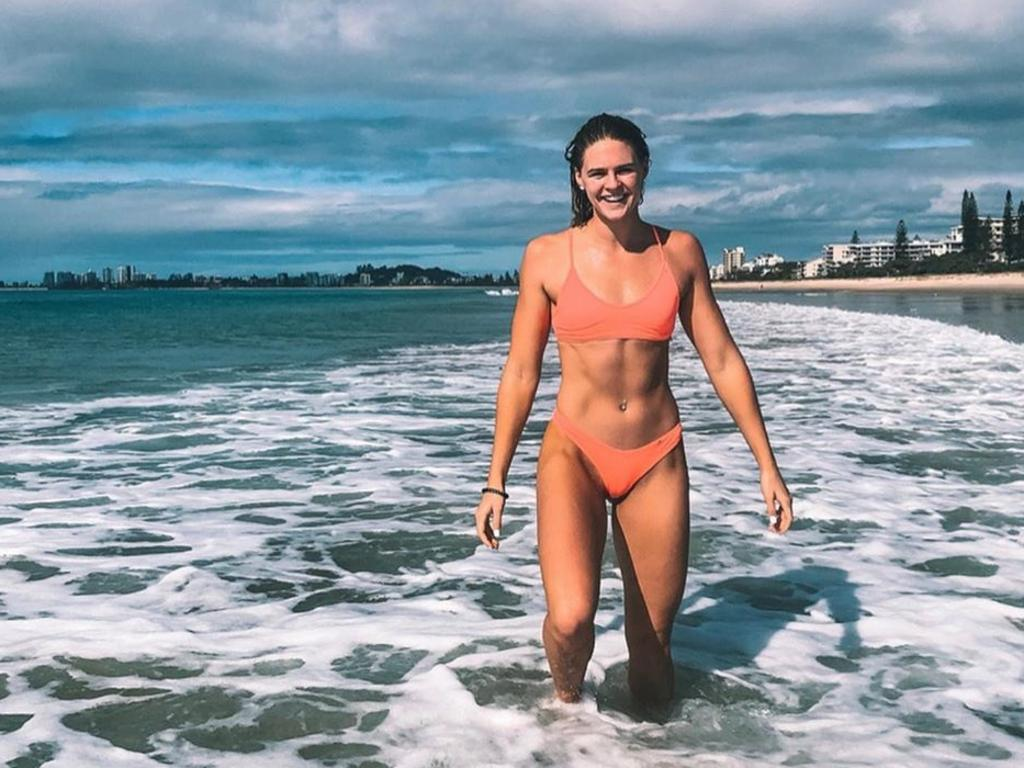 Australian swim team swimmer Shayna Jack. Image from instagram