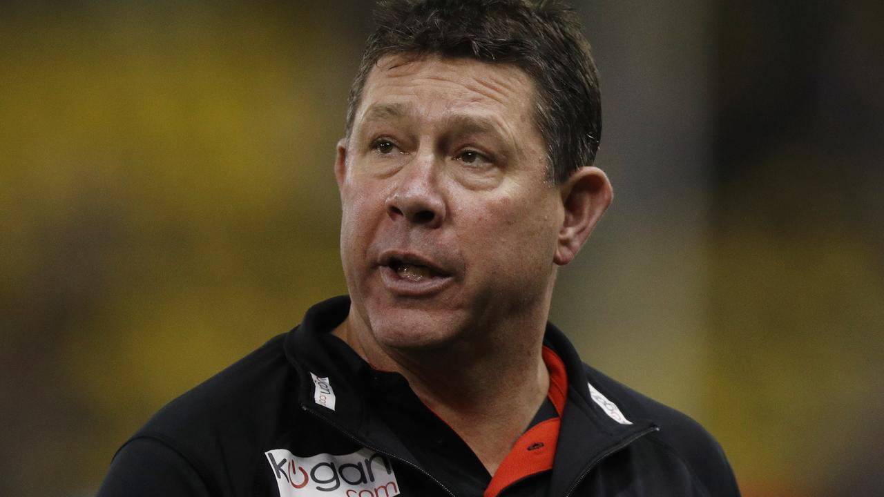 Brett Ratten says he is relishing his return to senior coaching with St Kilda. Picture: AAP Image/Daniel Pockett.