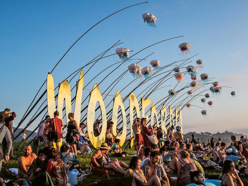 The Woodford Folk Festival.