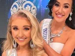 Teen wins international beauty pageant