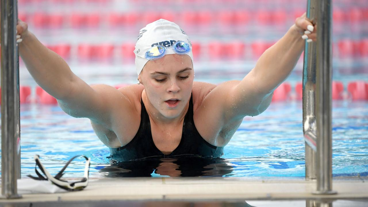 Shayna Jack during the Australian Dolphins team training camp. Picture: Getty
