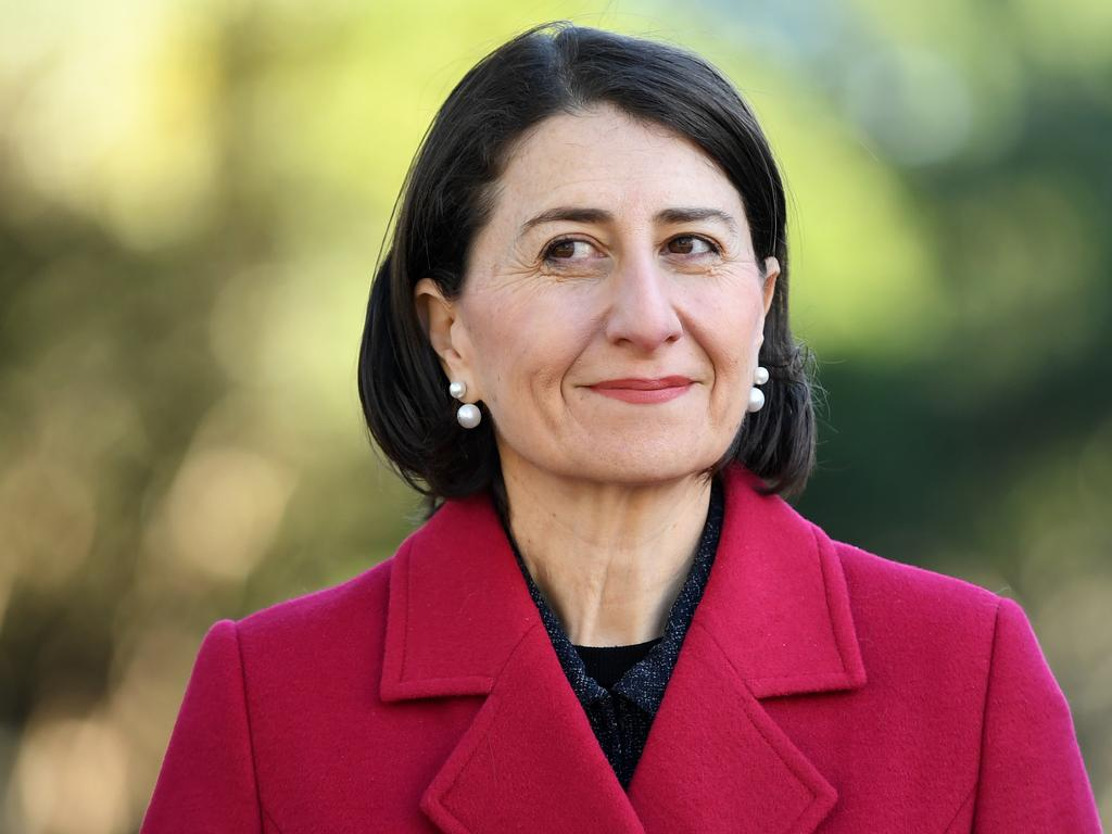 NSW Premier Gladys Berejiklian has flagged her support for decriminalising abortion in NSW. Picture: AAP