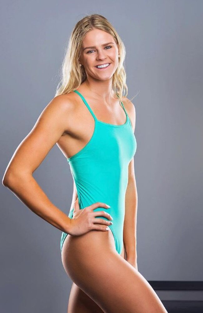 Australian swimmer Shayna Jack.