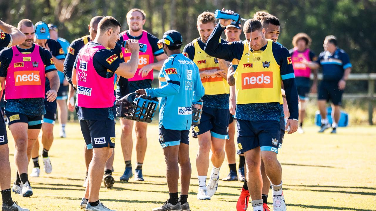 It has been a trying time for the Titans. Photo: Gold Coast Titans