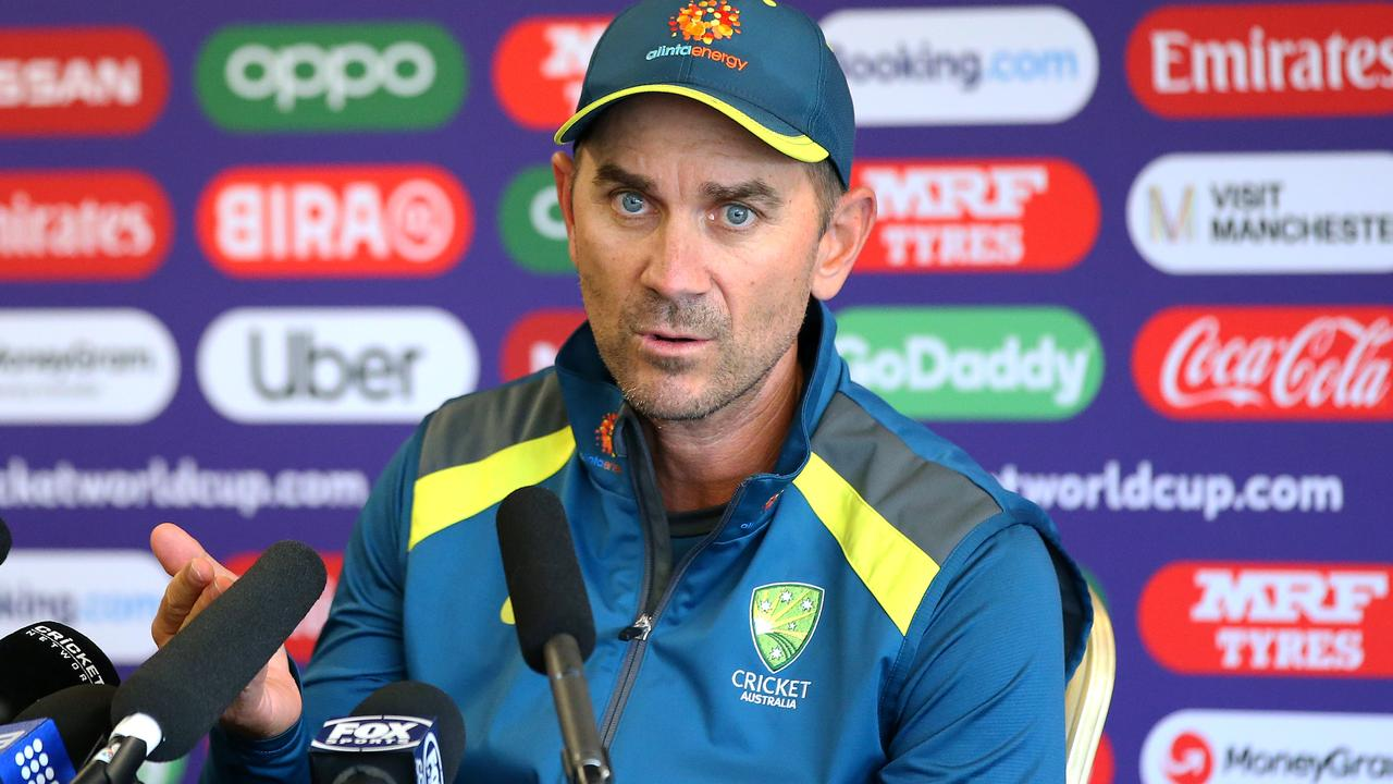 Justin Langer is making sacrifices for the Baggy Green.
