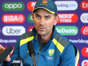 'Losing it': Langer reveals wife's tears