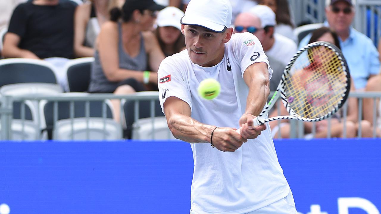 Alex De Minaur enters the tennis history books.