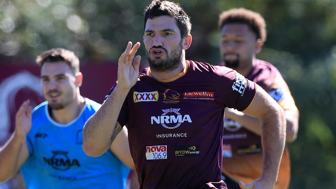 Matt Gillett is preparing for a massive game. Photo: Adam Head