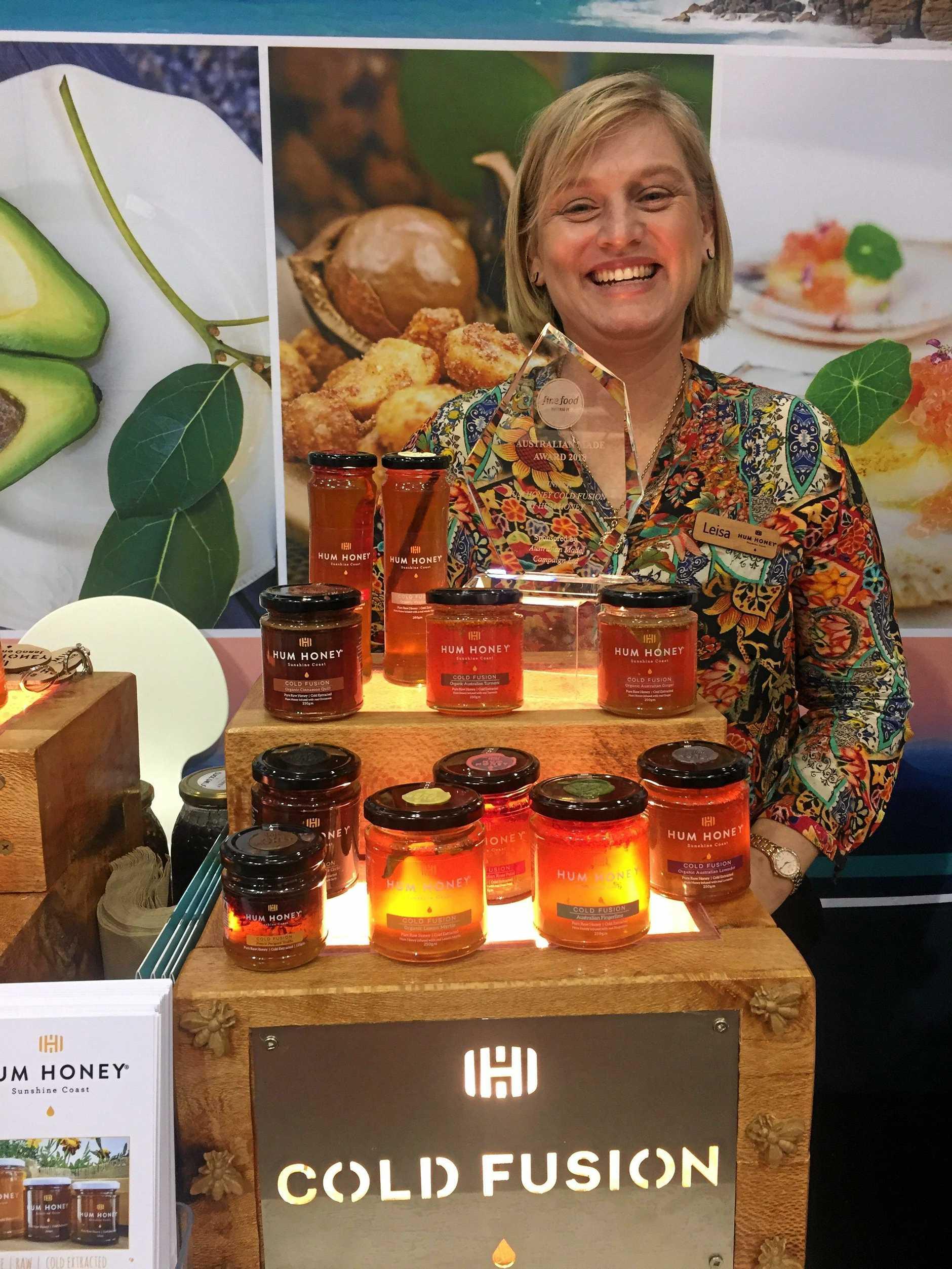 Hum Honey founder and bee extraordinaire, Leisa Sams.