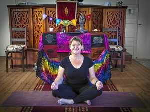 Nurse shares love for yoga with Mount Perry