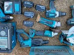 GALLERY: Police search for owners of tools seized from shed