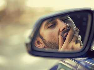 Shock wake-up for drunk dad found asleep at wheel