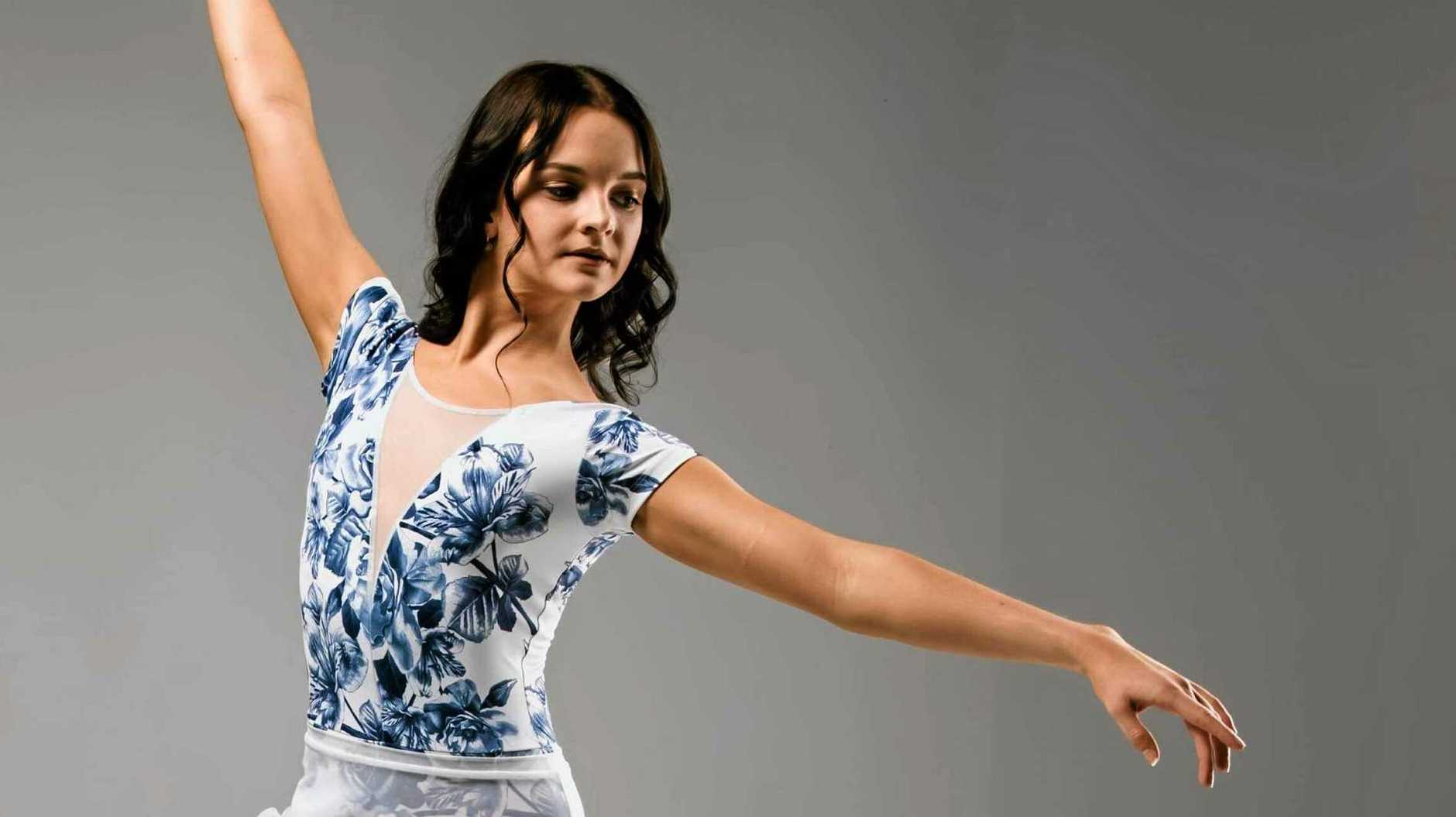 ON-POINTE: Georgia Baxter, 17, has been offered a position at prestigious dance company, Royal New Zealand Ballet after years of dedication in the industry.