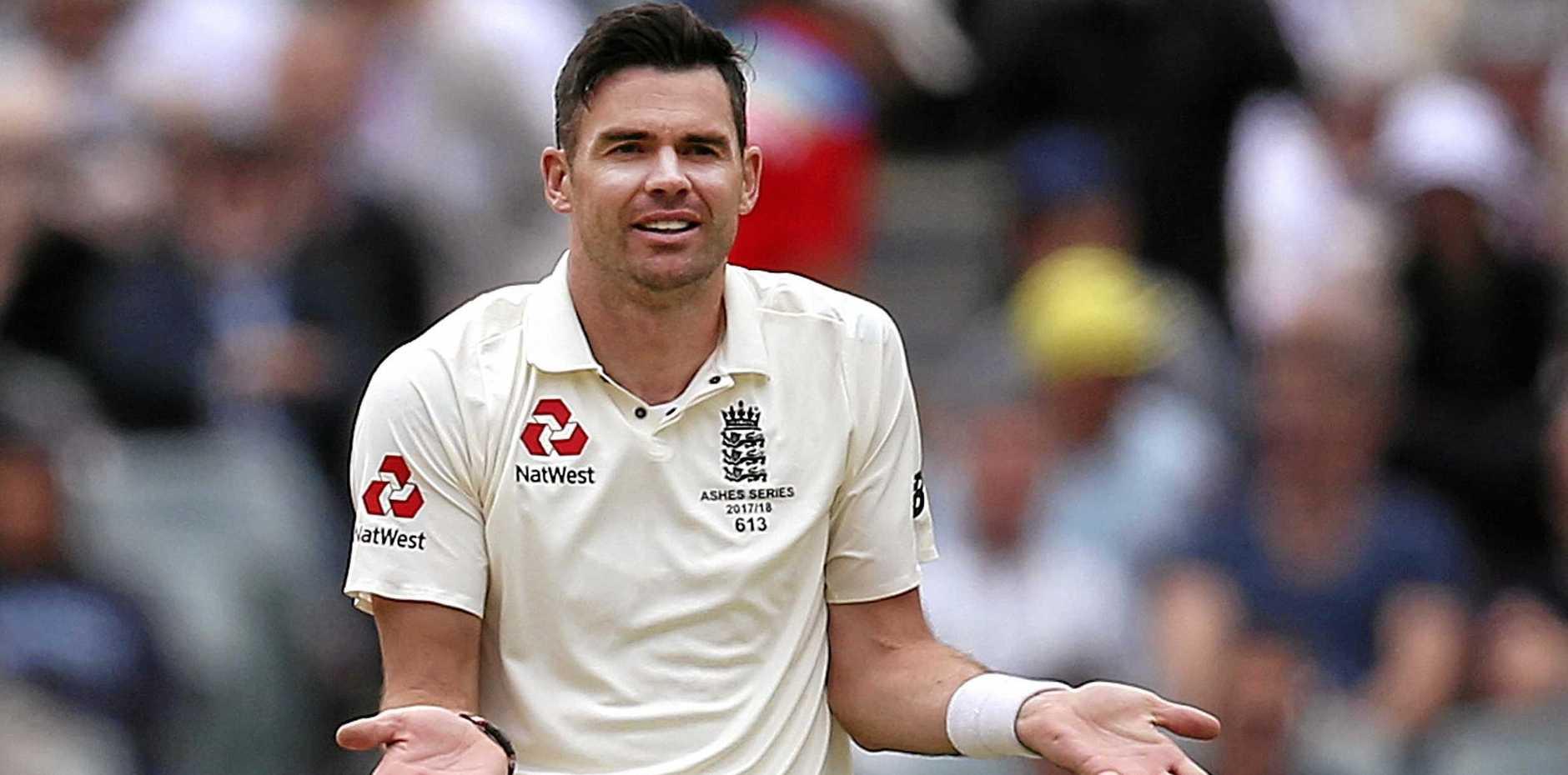 KEY MAN: Jimmy Anderson will cause plenty of dramas for Aussie batsmen.