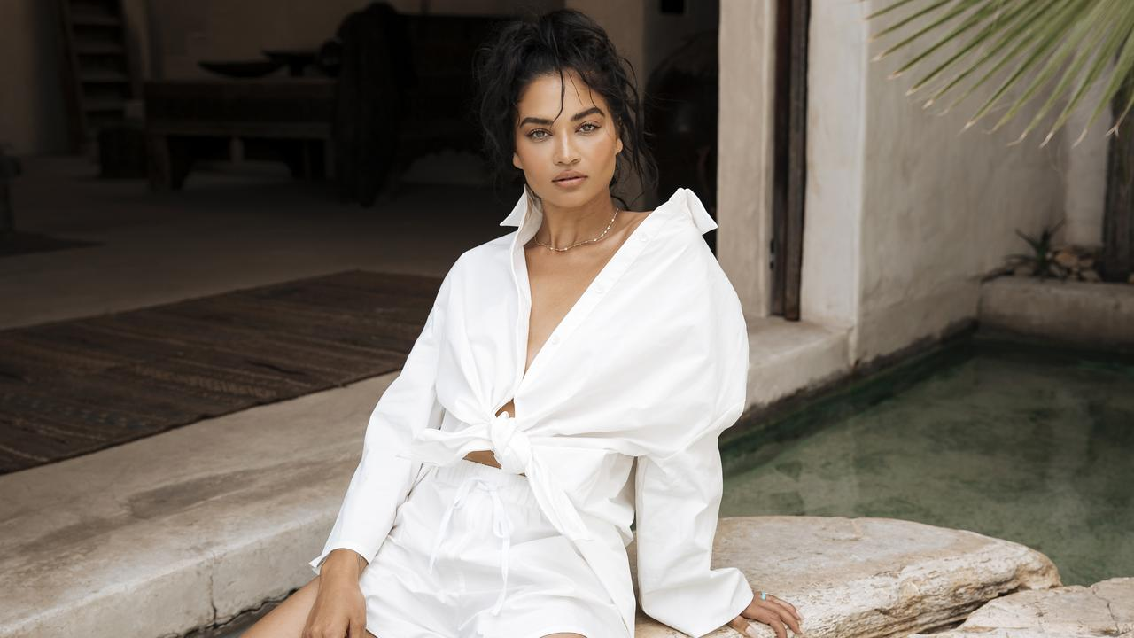 Australian model Shanina Shaik has revealed the annual Victoria's Secret show won't be happening this year. Picture: Tess Leopold/Johansen x Shanina