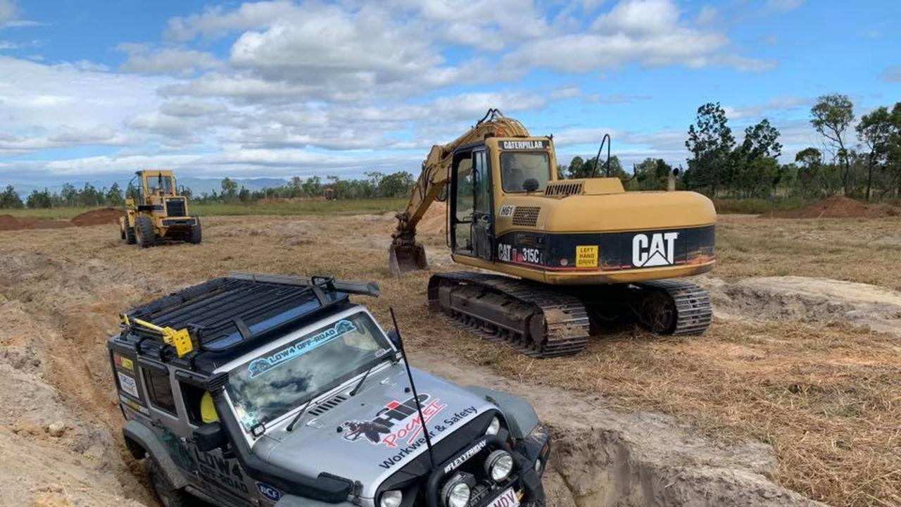 LOW4 Off Road's new 4WD practice site near Mareeba.