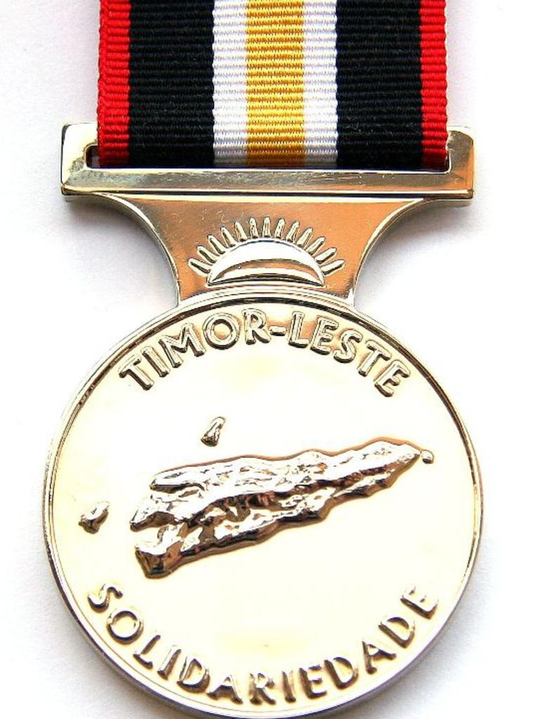 The Timor Leste Solidarity Medal